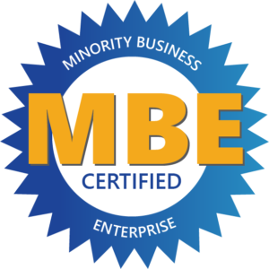 minority business MBE certified enterprise logo